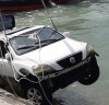 거제 여차항 차량 추락…30대 운전자 사망