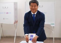 민주당 양문석 후보, 사전 투표