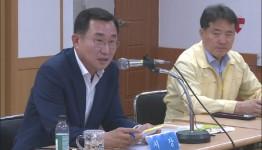 강석주 통영시장, 광도면 민생현장 방문